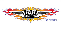 H&H Trailers logo.